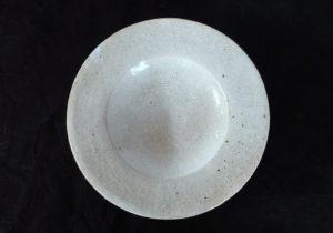 陶器 貫入中皿