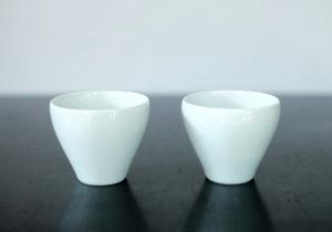磁器 白茶碗